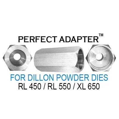 The Perfect Adapter™ For Dillon Powder Dies