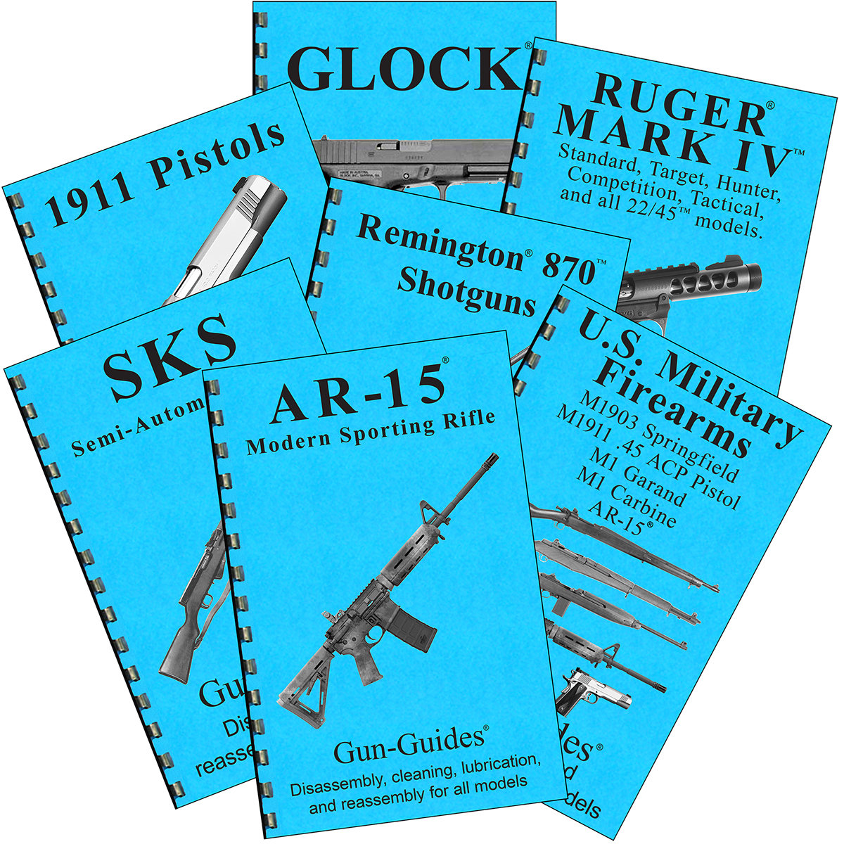 Order Multiple Gun-Guides®  $6.99 ~  $24.99 (39 TITLES)