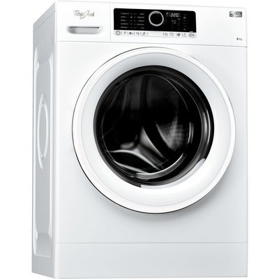 Whirlpool Supreme Care FSCR80410 8kg load, 1400 Spin Washing Machine - White