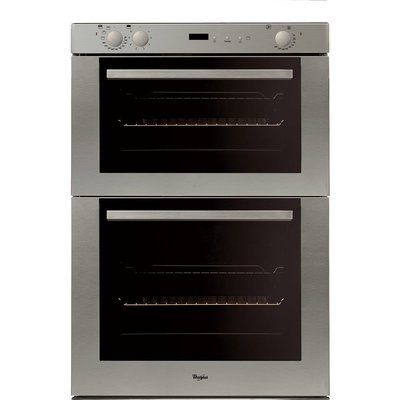 Whirlpool AKW 301 IX Built-Under Double Oven in Stainless Steel