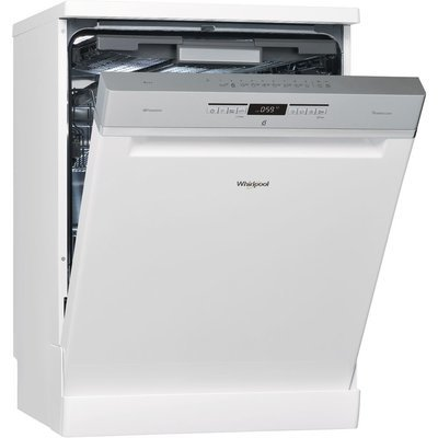 Whirlpool Supreme Clean Dishwasher in White WFO 3P33 DL UK