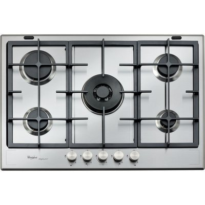 Whirlpool Fusion Built-In Gas Hob in Stainless Steel GMF 7522/IXL