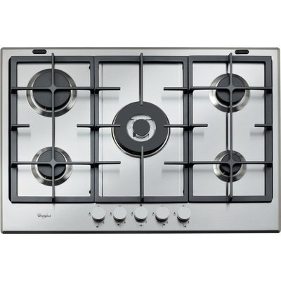Whirlpool Absolute Built-In Gas Hob in Stainless Steel GMA 7522/IX