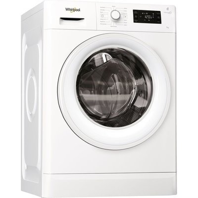 Whirlpool FWG71484W FRESH CARE 1400rpm Washing Machine 7kg Load Class A+++ White