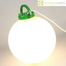 Trama lampada da terra/appoggio .Design Isao Hosoe