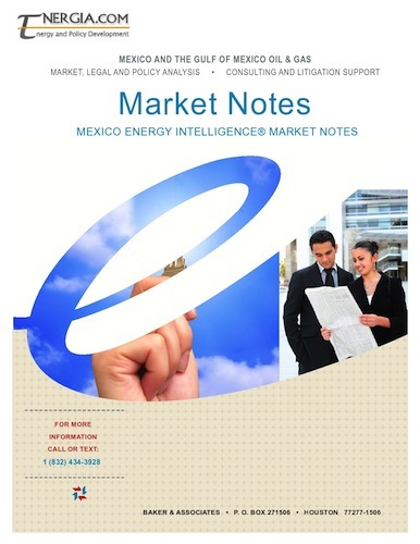 MEI Market Note Portfolio 200154: Plans and Options for Energy Reform