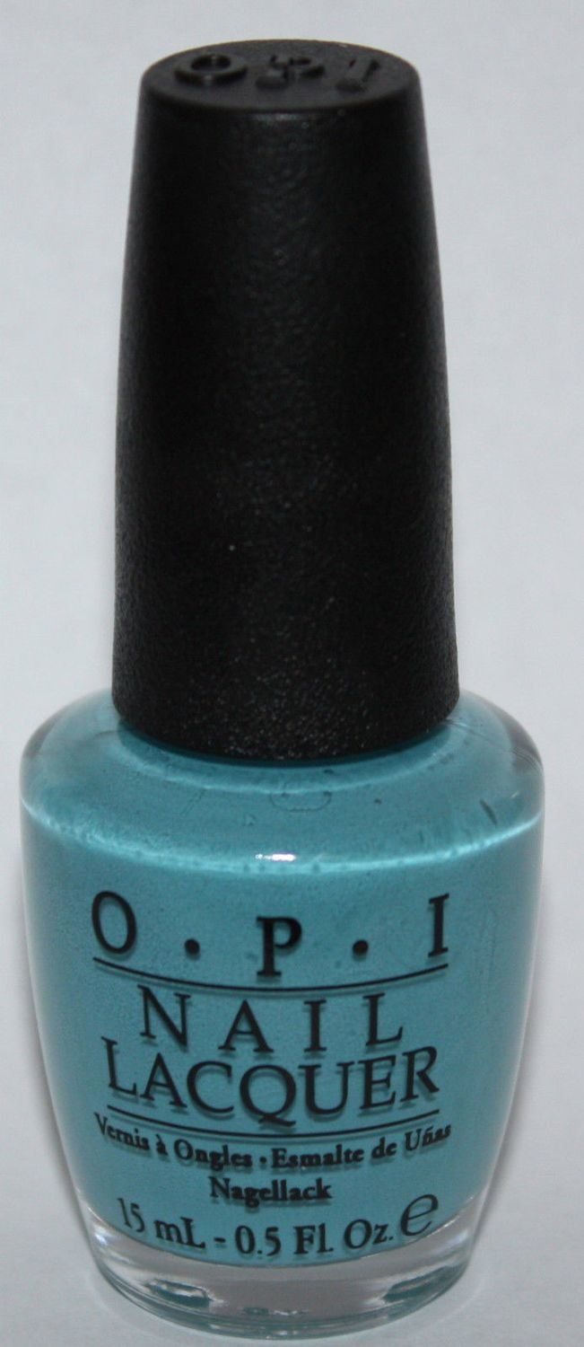 Can't Find My Czechbook -OPI Nail Polish Lacquer 0.5 oz
