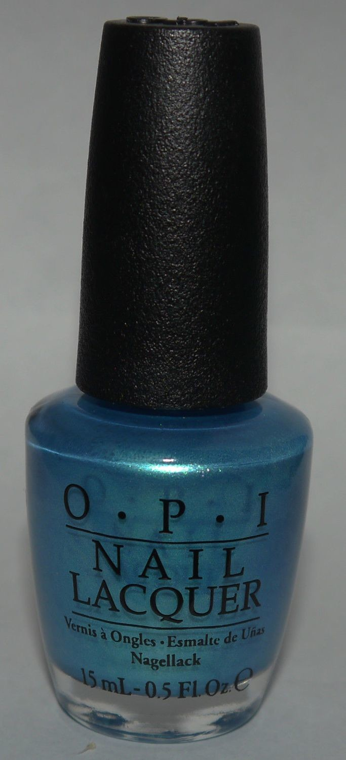 Teal the Cows Come Home - OPI Nail Polish Lacquer 0.5 oz