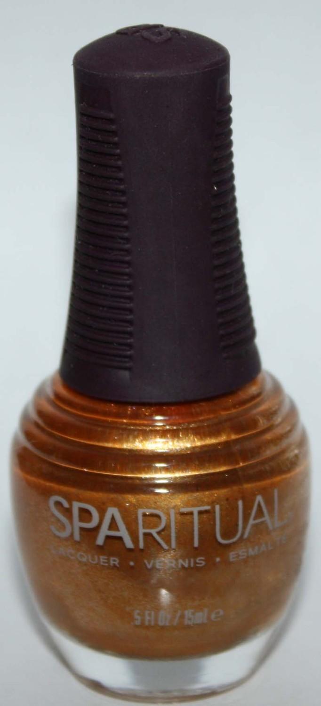 Golden Gleam - SpaRitual Nail Polish Lacquer .5 oz