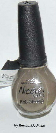 MY EMPIRE...MY RULES (KARDASHIAN KOLOR) -Nicole By OPI Nail Polish Lacquer .5 oz