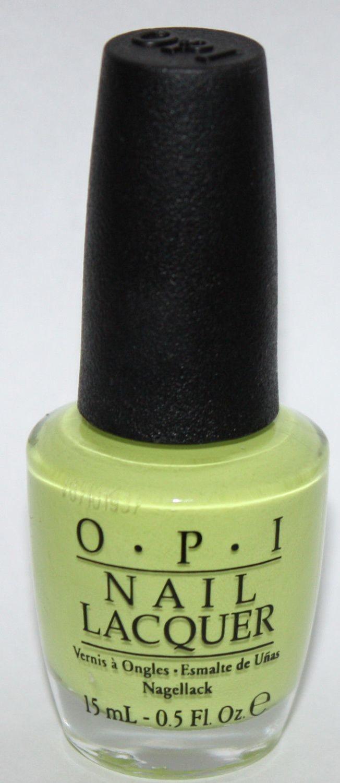 Life Gave Me Lemons - OPI Nail Polish Lacquer 0.5 oz