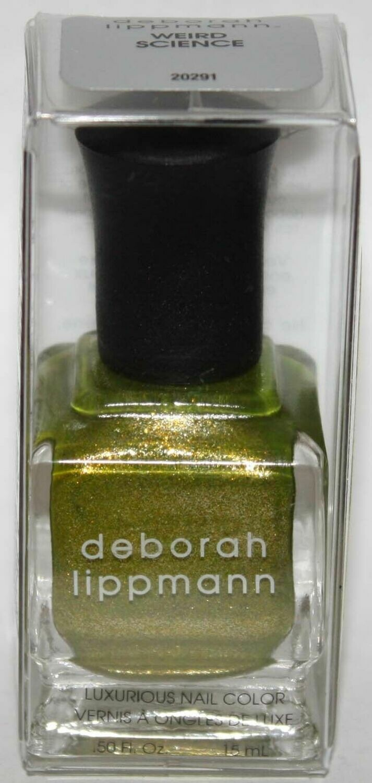 WEIRD SCIENCE - deborah lippmann Luxurious Nail Color Polish .50 oz