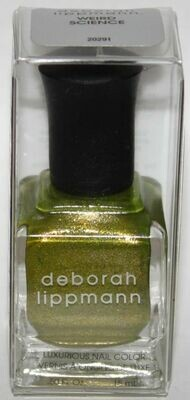 WEIRD SCIENCE - deborah lippmann Luxurious Nail Color Polish .50 oz
