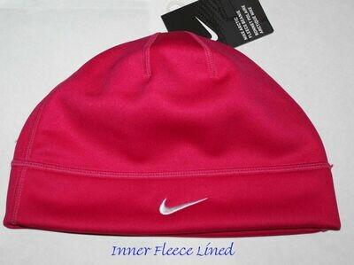 Nike Arctic Adult Unisex Inner Fleece Beanie Hat -Dark Pink