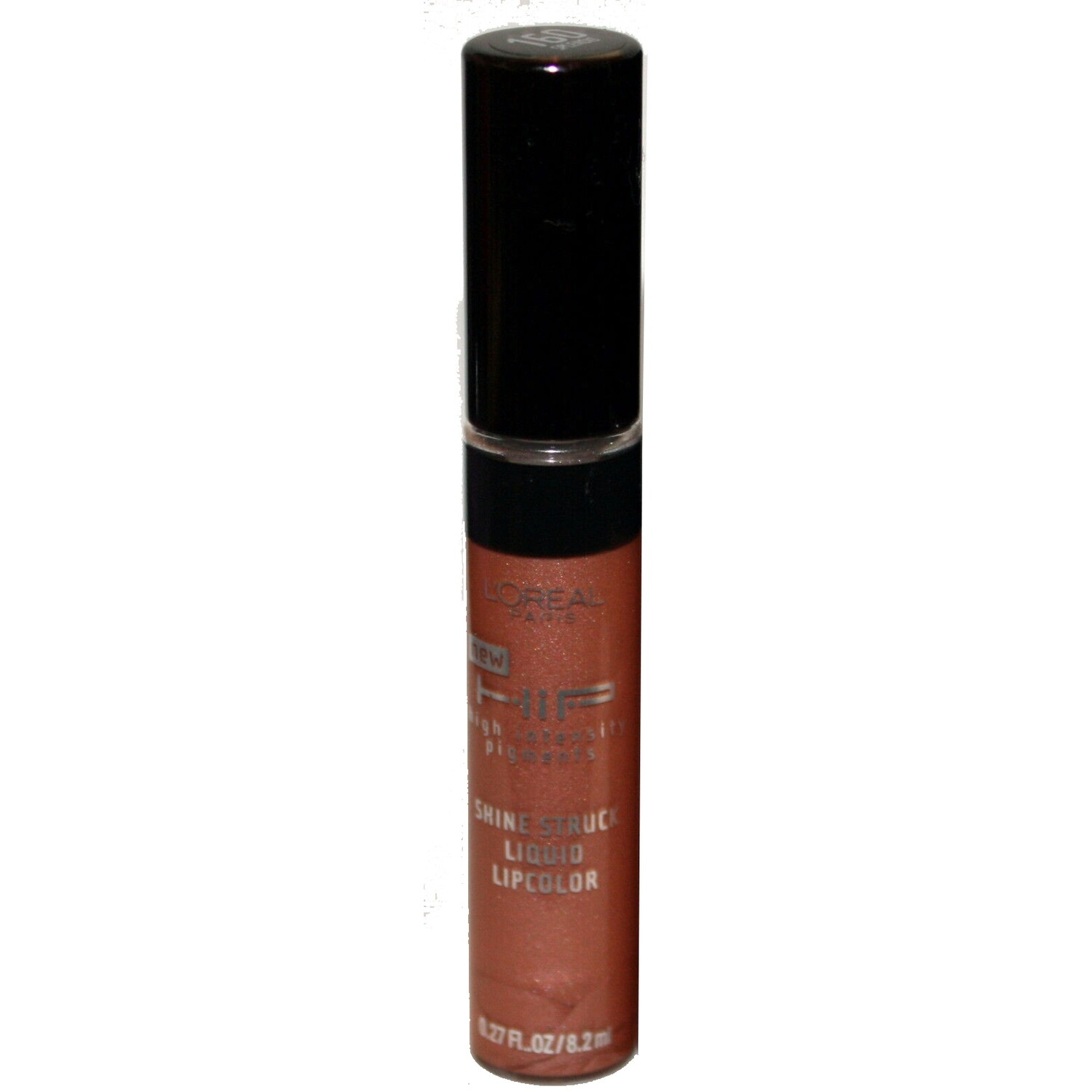 2 L'Oreal HIP Shine Struck Liquid Lip Color Gloss #160 SPLENDID .27 oz
