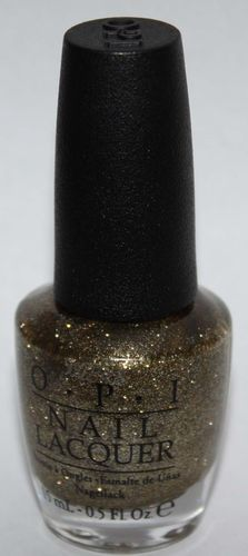 All Sparkly and Gold - OPI Nail Polish Lacquer 0.5 oz