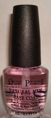 Natural Nail Base Coat - OPI Nail Polish Lacquer 0.5 oz
