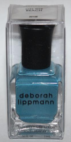 ON THE BEACH - deborah lippmann Luxurious Nail Color Polish .50 oz