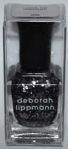 I LOVE THE NIGHTLIFE - deborah lippmann Luxurious Nail Color Polish .50 oz