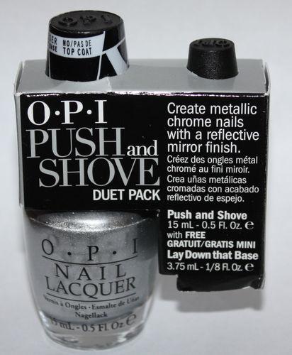 OPI Push And Shove & Lay Down That Base Nail Polish Duet Pack