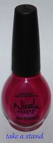TAKE A STAND -Nicole By OPI Nail Polish Lacquer .5 oz