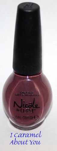 I CARAMEL ABOUT YOU -Nicole By OPI Nail Polish Lacquer .5 oz