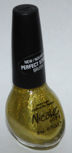 MY FAVORITE GOLD -Nicole By OPI Nail Polish Lacquer .5 oz