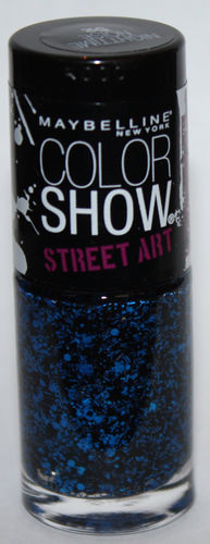 Maybelline New York Color Show STREET ART Nail Polish Top Coat #52 Nighttime Noise .23 oz