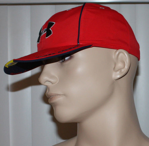 Under Armour Heatgear Men's Home & Away Red Reversible To Blue & Red Hat  (One Size)