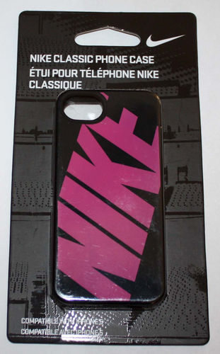 Nike Classic Soft Case For IPhone 5 -Black with Graphics