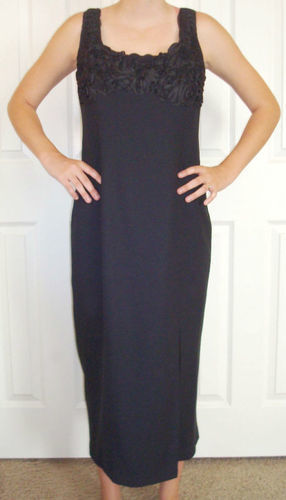 LAUNDRY By Shelli Segal Black Formal Dress (Size 10) *Reduced*