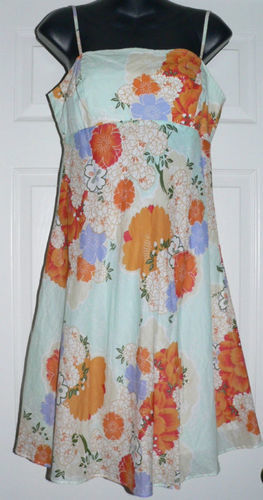 O'Neill Women's Junior Stretch Fit Floral Dress (Size 9)