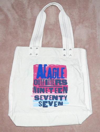 American Eagle Graphic Tote Bag