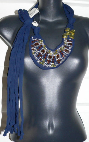 Abercrombe & Fitch Women's Vintage Blue Scarf