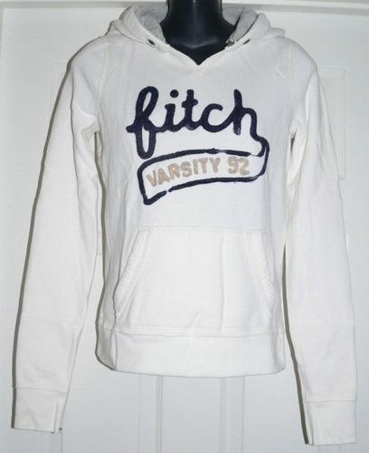 Abercrombie Kids Hoodie Jacket - White (X-Large) *Reduced*