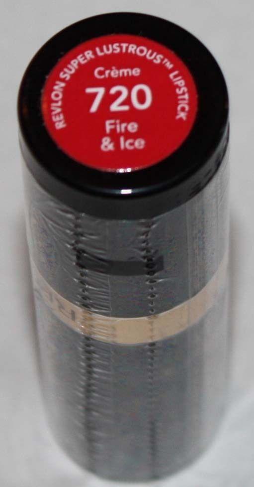 Revlon Super Lustrous CREME Lipstick .15 oz  -Fire & Ice #720