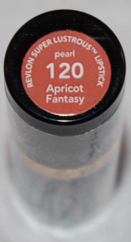 Revlon Super Lustrous Pearl Lipstick .15 oz  -Apricot Fantasy #120