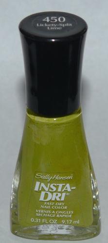 Lickety-Split Lime - Sally Hansen INSTA-DRI Fast Dry Nail Color Polish Lacquer 0.3 oz