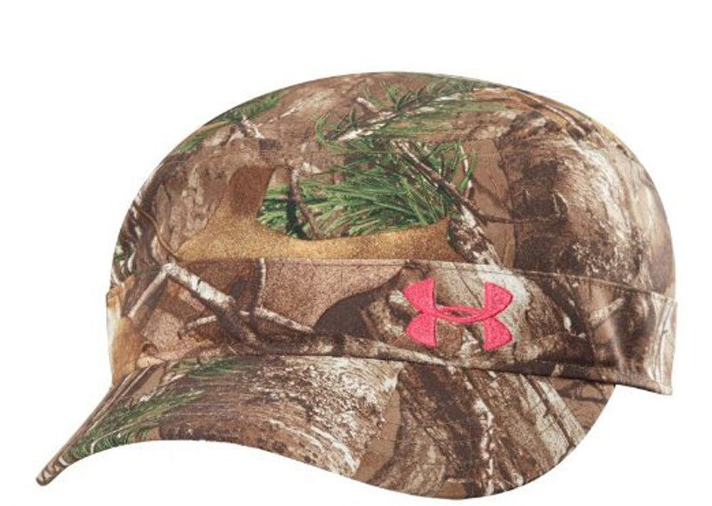 Under Armour Women's Realtree/Pinkadelic UA Adjustable Military Hat Cap