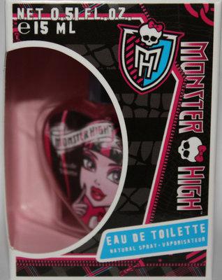 Monster High Girl's Eau De Toilette Natural Spray .5 oz *Reduced*