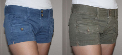 American Eagle Women's SHORTIE Military Shorts