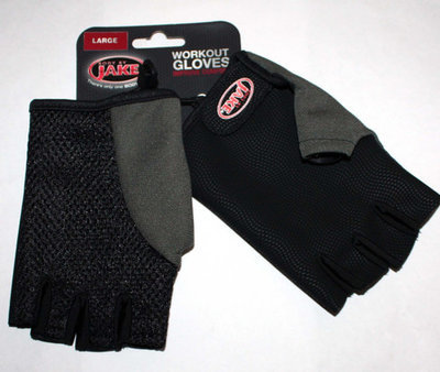 Body By Jake Men's Workout Gloves (Large)