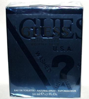GUESS Seductive Homme Blue Eau De Toilette Spray for Men 1.7 oz