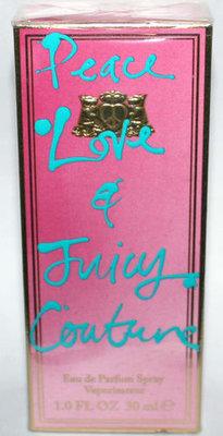 Juicy Couture PEACE, LOVE, & JUICY COUTURE Eau De Parfum Spray 1 oz