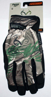 Ironclad Men's Force AP Realtree Camo Gloves #RT-WFGC-02-S (Small)
