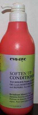 Eva SOFTEN UP Conditioner With Keravis Protein & Argan Oil 33.81 oz