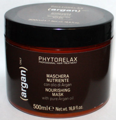Phytorelax ARGAN ONLY Nourishing Hair Mask With Pure Argan Oil 16.9 oz