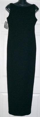 LAUNDRY By Shelli Segal Women's Black Formal Dress (Size 8)