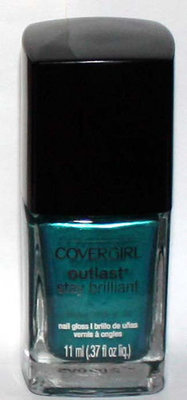 CoverGirl OUTLAST Stay Brilliant Nail Gloss Polish Lacquer (Constant Caribbean)