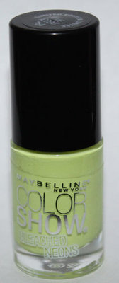 Maybelline New York Color Show Limited Edition Bleached Neons #764 LIME ACCENT .23 oz